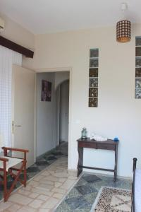 A seating area at Aumkara