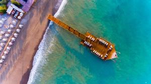 A bird's-eye view of Sunrise Resort Hotel