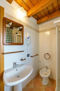 A bathroom at Agriturismo Giacomino