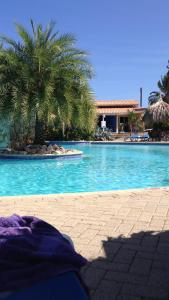 A piscina localizada em Seru Coral Resort ou nos arredores