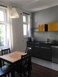 Kuchnia lub aneks kuchenny w obiekcie Apartament Cracow