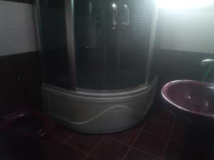 A bathroom at House In Kvareli