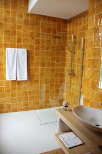 Uma casa de banho em Quinta de Fiães