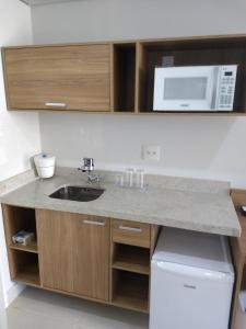 A kitchen or kitchenette at Granja Brasil