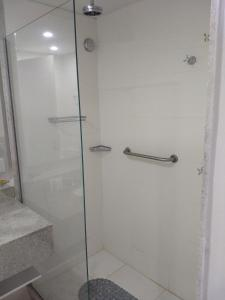 A bathroom at Granja Brasil