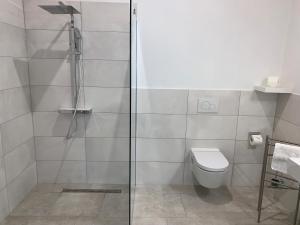 Ein Badezimmer in der Unterkunft Gästezimmer & Appartement Elskop