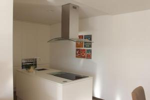 A kitchen or kitchenette at Manuel Tiago Pereira