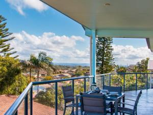 A balcony or terrace at 22 Marine Drive