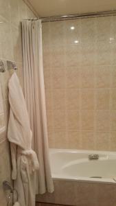 A bathroom at Hotel Geolog