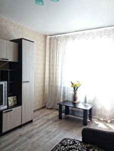 Гостиная зона в Apartment on Leninskiy prospect 124b