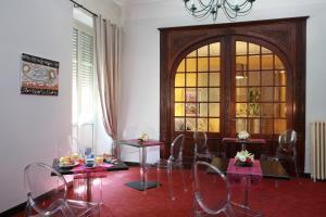 Restaurant ou autre lieu de restauration dans l'établissement Alerion Centre Gare
