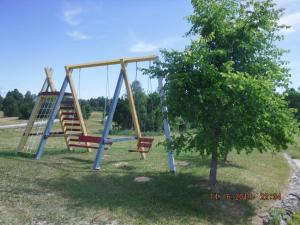 Children's play area at Ezersētas