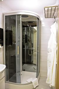 Vonios kambarys apgyvendinimo įstaigoje Pasažo namai B&B