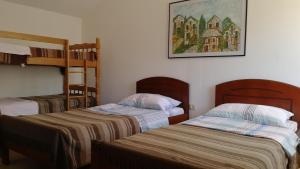 Un ou plusieurs lits dans un hébergement de l'établissement Agrotourism Matusko