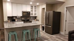 A kitchen or kitchenette at Barefoot Beach Club