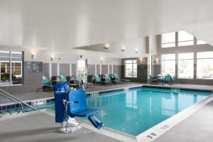 The swimming pool at or close to Residence Inn by Marriott Denver Central Park