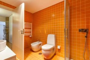 A bathroom at Quinta do Olival