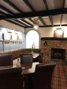 A seating area at The Brewers Arms