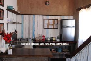 Una cocina o zona de cocina en Parentheses Cabins