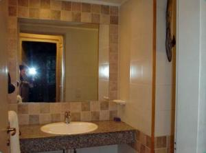A bathroom at Rincon del Sur