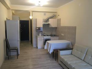 Кухня или мини-кухня в Apartment on Plekhanova