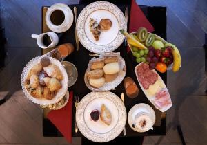 Opções de café da manhã disponíveis para hóspedes em Hotel Palazzo Barbarigo Sul Canal Grande