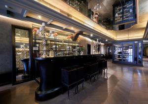O lounge ou bar de Hotel Palazzo Barbarigo Sul Canal Grande
