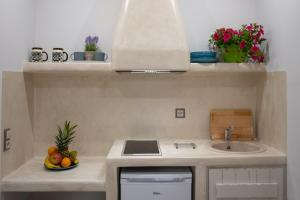 A kitchen or kitchenette at Katerina Roza Studios
