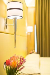 Ein Badezimmer in der Unterkunft Hotel Teco