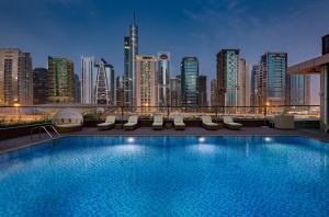 The swimming pool at or near Millennium Place Dubai Marina