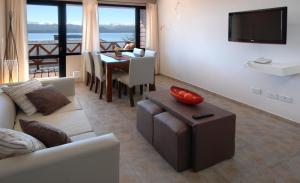 Un lugar para sentarse en Catalonia Sur Aparts-Spa