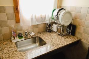 Una cocina o kitchenette en Unquehue Dormis