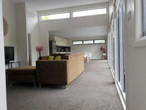 The lobby or reception area at poppies house