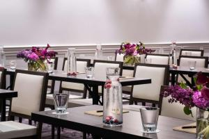 A restaurant or other place to eat at The Talbott Hotel