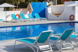 The swimming pool at or near Aparthotel Club Maritim