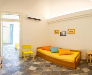 A seating area at Casa don Luigi