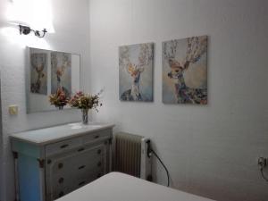 A bathroom at Casa María I