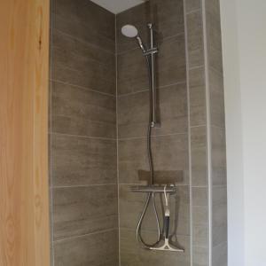 Et badeværelse på Brakkerhus