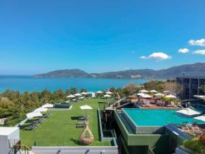 A view of the pool at Crest Resort & Pool Villas or nearby