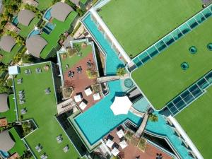 The floor plan of Crest Resort & Pool Villas