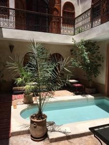 Piscina en o cerca de Riad Prada