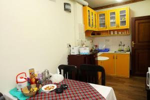 A kitchen or kitchenette at Dream Nepal Hotel and Apartment