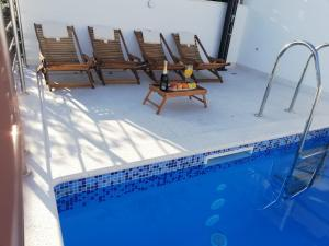 The swimming pool at or close to Apartments Leptiric