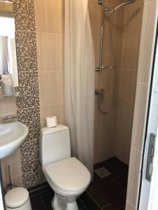 Ванная комната в Гостевой Дом Елена