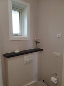 A bathroom at Hvammból Guesthouse