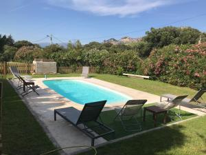 The swimming pool at or near Bel Appartement