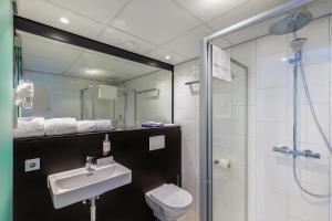 Een badkamer bij Postillion Amersfoort Veluwemeer