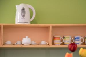 Coffee and tea-making facilities at Vitorno Residence