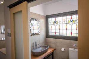 Ein Badezimmer in der Unterkunft PanMari