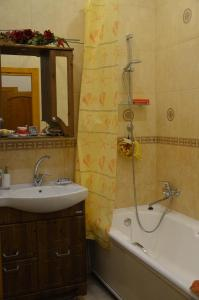 A bathroom at Business Apartment on Chernaya reka